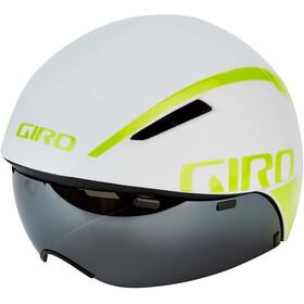 Giro Aerohead MIPS Kask rowerowy, matte white/citron